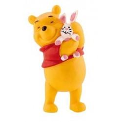 Winnie The Pooh con Conejo - Winnie The Pooh