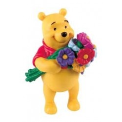Winnie The Pooh con flores - Winnie The Pooh