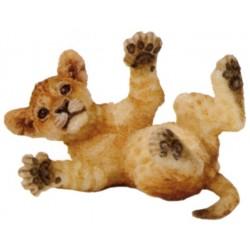 Cría león tumbado - Papo