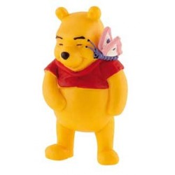 Winnie The Pooh con mariposa - Winnie The Pooh