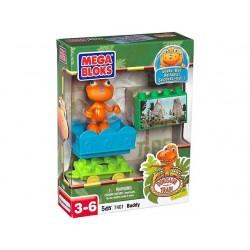 Dino tren Mega Bloks 5 piezas - Juguetes