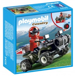 Quad Rescate - Playmobil