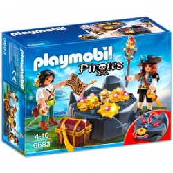 Escondite del Tesoro Pirata - Playmobil
