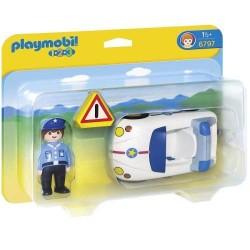 Coche policia - Playmobil