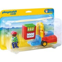Carretilla Elevadora - Playmobil 1.2.3