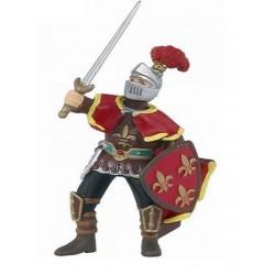 Escudero con pluma rojo - Papo