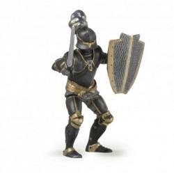 Caballero negro con armadura - Papo
