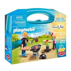 Maletín Barbacoa- Playmobil