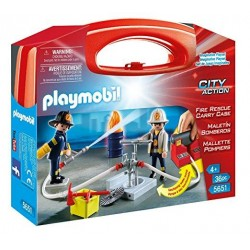 Maletín Grande Bomberos - Playmobil