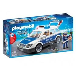 Coche Policía Luz y Sonido - Playmobil