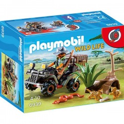 Explorador con Quad - Playmobil