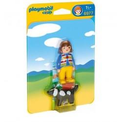 Mujer con Perro - Playmobil
