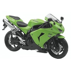 Moto Kawasaki 1:12 - Expositor