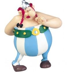 Figura Obelix enamorado con flores - Asterix