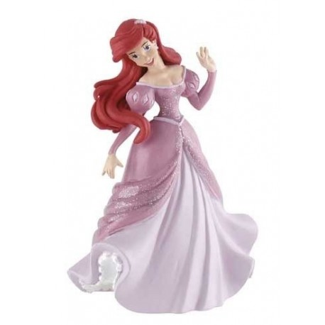 Princesa Ariel Vestido Rosa La Sirenita Juguetes Junior
