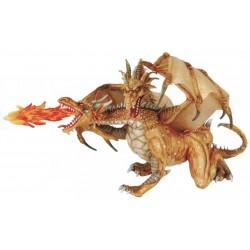 Dragón dos cabezas oro - Papo