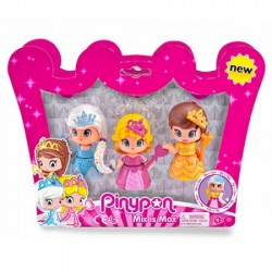 Pinypon Pack 3 Princesas - Famosa