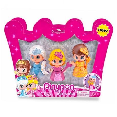 Pinypon Pack 3 Princesas - Famosa
