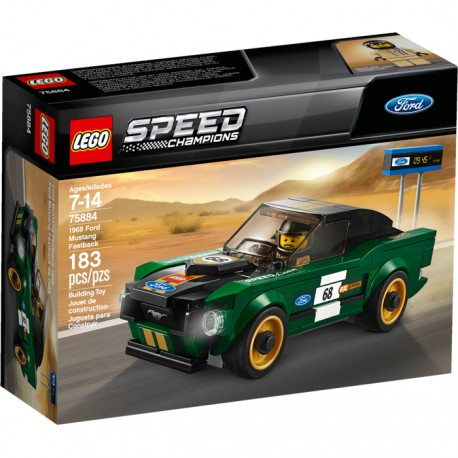 Ford Mustang Fastback de 1968 - Lego