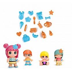 Pinypon Bebes y Figuras Pack 4 - Muñecas