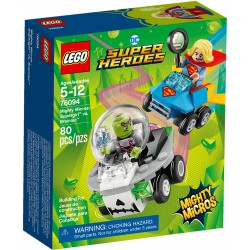 Supergirl vs Brainiac : Mighty Micros
