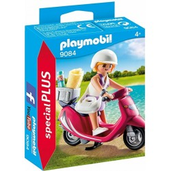 Mujer con Scooter - Playmobil