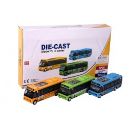 Autobus Musical con Luz (6 Uds.) - Expositor