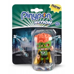 Pinypon Action Figurita Policía, Bombero, Superheroe
