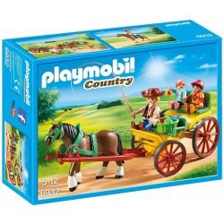 Carruaje con Caballo - Playmobil