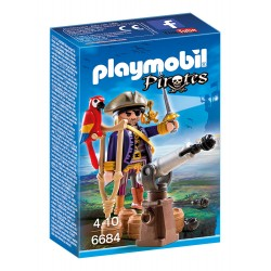 Capitán Pirata - Playmobil