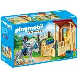 Caballo Appaloosa con Establo - Playmobil
