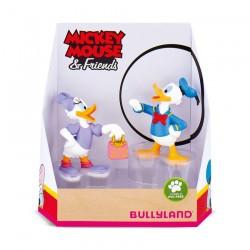 Pack 2 Figuras Donald y Daisy en Caja Regalo