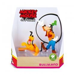 Pack 2 Figuras Goofy y Pluto en Caja Regalo