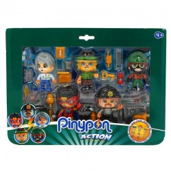 Pinypon Action Pack 5 Figuras - Muñecas