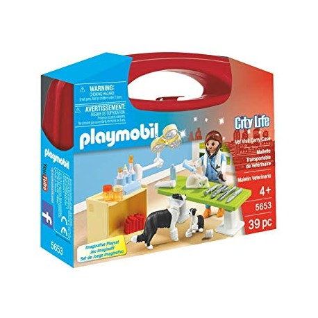 Maletin Veterinaria - Playmobil