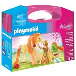 Maletín grande Princesa con Caballo Fantasía- Playmobil
