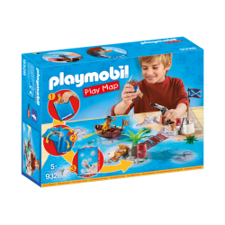 Play Map Piratas - Playmobil