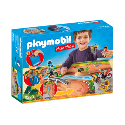 Play Map Motocross - Playmobil