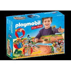 Play Map Motocross - Playmobil