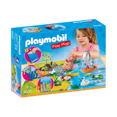 Play Map Hadas de Jardin - Playmobil