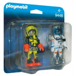 Duo Pack Astronautas - Playmobil