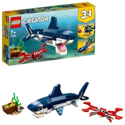 Criaturas del Fondo Marino - Lego