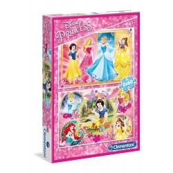Puzzle Princesas 2x60 Piezas.- Puzzle