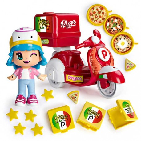 PinyPon Moto Pizzería - Muñecas