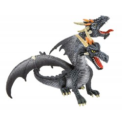 Dragón Gris 2 Cabezas - Bullyland
