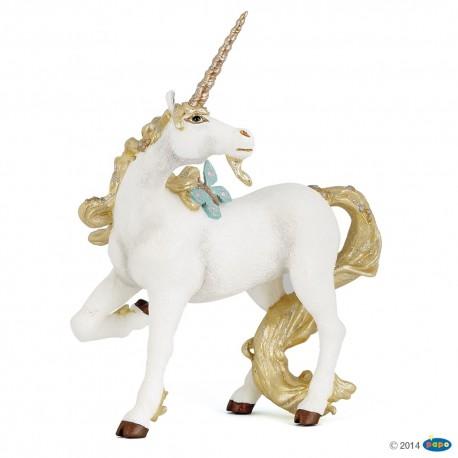 Unicornio dorado - Papo