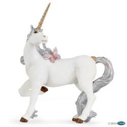 Unicornio Plateado - Papo