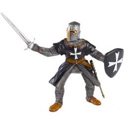 Caballero Negro con Espada - PAPO