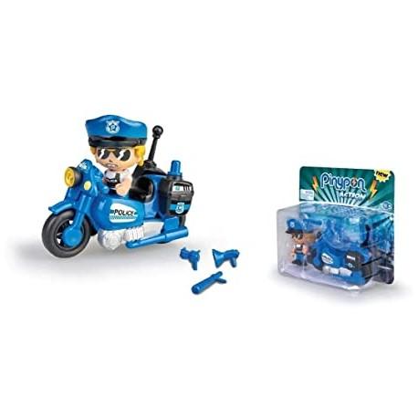 PinyPon Action Policía con Moto