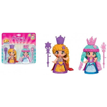 PinyPon Reinas Pack 2 Figuras